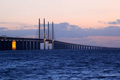 Oresund Bridge, Sweden Stock Photo