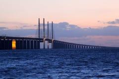 Oresund Bridge, Sweden stock photo