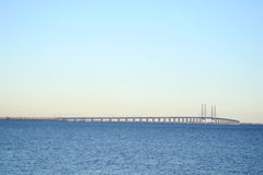 Oresund bridge, Sweden Royalty Free Stock Image