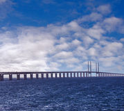 Oresund Bridge Sweden Malmo Royalty Free Stock Photos