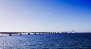 Oresund Bridge Sweden Malmo Royalty Free Stock Photo