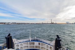 Oresund Strait, view from the ferry Stock Photos