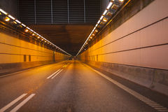 oresund tunel Fotografia Royalty Free