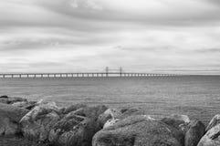 Oresundbrug tussen Zweden en Denemarken Royalty-vrije Stock Afbeelding