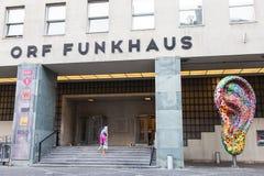 ORF Funkhaus stock photography