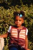 Orfano haitiano Immagine Stock