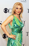 Orfeh. Nominated for her role in \Legally Blonde, the Musical,\ greets the media at \Meet the Nominees\ in the publicity run-up to the 61st Tony Awards.  The Royalty Free Stock Photo