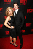 Orfeh, Andy Karl Photographie stock libre de droits