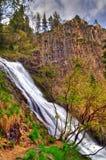 Orfei Waterfall, Bulgaria. Orfei Waterfall in Rhodopi mountain close to Smolian town, Bulgaria Royalty Free Stock Images