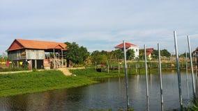 Orfelinato camboyano imagen de archivo libre de regalías
