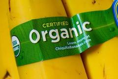 Orgánico certificada Foto de archivo libre de regalías