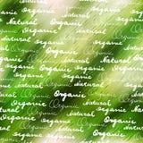 Orgánico y natural Foto de archivo libre de regalías