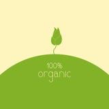 100% orgânico Imagens de Stock