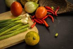 Orgânico, alimento, fundo, fresco, mercado, verão, madeira, projeto, cozinheiro, de madeira Fotos de Stock Royalty Free