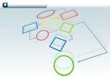 org диаграммы Стоковые Изображения