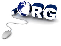 .org domain name Stock Photos