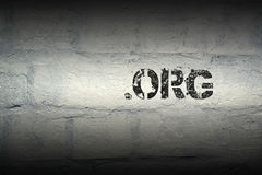 Org GR de point image libre de droits