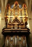 Orgaan in Brussel Royalty-vrije Stock Afbeeldingen