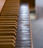 Organów klucze w kościół Fotografia Stock