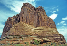 The organ in Arches National Park Royalty Free Stock Photo