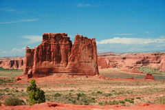 The Organ Arches National Park Stock Photo