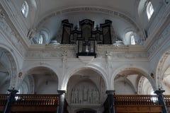 Organ and balcony Royalty Free Stock Image