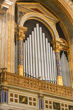 Organ at Basilica, Rome Royalty Free Stock Photos