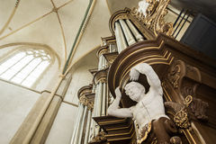 Organ of the Bovenkerk in Kampen Royalty Free Stock Image