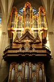 Organ in Brussels Royalty Free Stock Images