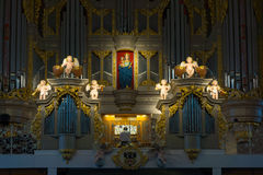 Organ in Cathedral on Kant's Island Stock Image