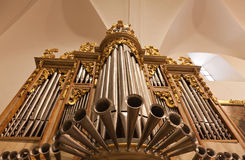 organ of a church Royalty Free Stock Photos