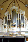 The organ of the church Royalty Free Stock Photography
