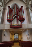 A organ in a church Royalty Free Stock Images