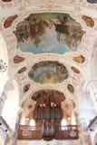 Organ of church Stock Photos