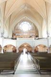 Organ der alten Kirche Stockfotos
