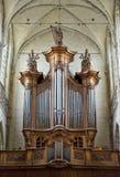 Organ in der Collegekirche St Martin Lizenzfreies Stockfoto