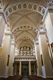 Organ in der Kathedrale Stockbild