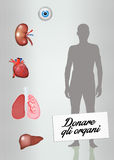 Organ donation Stock Image