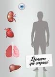 Organ donation Stock Image