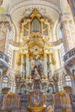 Organ in Dresden Royalty Free Stock Photos