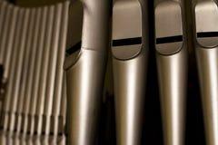 Organ från mycket tätt Royaltyfri Foto