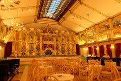 Organ Hall på den Kawaguchiko musikskogen & x28; Kawaguchiko Orgel ingen Mori& x29; arkivfoton