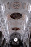 Organ inside the cathedral in the city of Augsburg in Bavaria (Germany) Stock Photos
