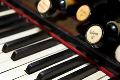 Organ keyboard Stock Photos