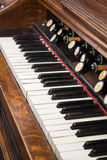 Organ keyboard Royalty Free Stock Photography
