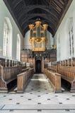 Organ at Magdalene college, Cambridge, England. Stock Image