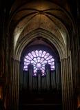 The organ in Notre Dame de Paris Stock Photography