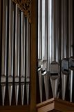 Organ pipe Royalty Free Stock Photography