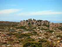 Organ Pipe Rock Formations, Mount Wellington Royalty Free Stock Photos