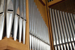 Organ Pipes Royalty Free Stock Photography